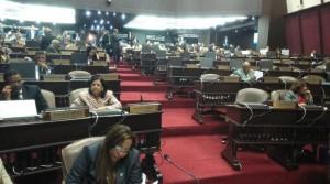 Cámara Baja sesionó con precaria asistencia de diputados