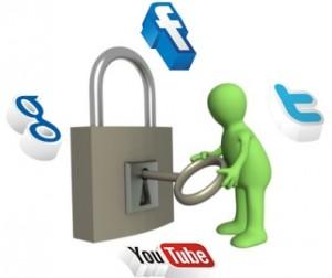 Cuentas de las redes sociales-CDN