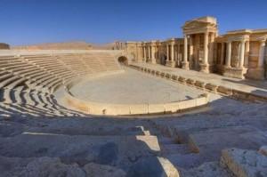 Estado Islámico ejecuta 20 soldados sirios en anfiteatro romano de Palmira