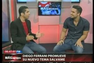 Diego Ferrani promueve su nuevo disco