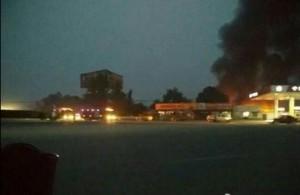 Incendio en China-CDN