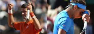 Djokovic pone fin a era Nadal en Roland Garros