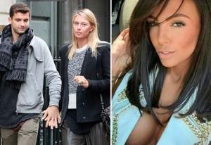 Modelo rusa le robó el novio a Maria Sharapova, segun medios búlgaros