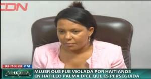 Mujer violada por haitianos en Hatillo Palma dice es perseguida