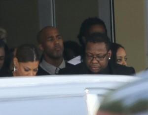 Realizaron ceremonia privada en honor a la hija de Whitney Houston