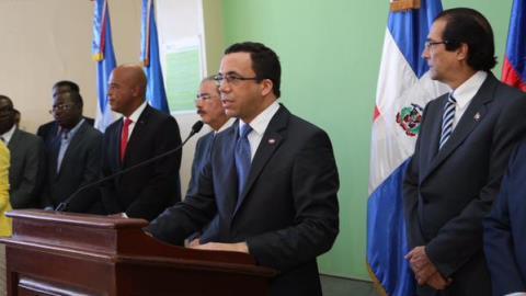Finaliza reunión presidentes RD y Haití: acuerdan seis puntos, entre ellos retomar diálogo