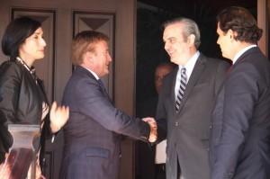 Abinader sostiene encuentro con embajador Brewster; dice sirvió para fortalecer relaciones