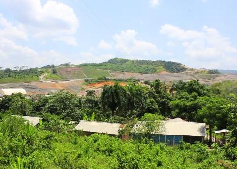 Lugar de asentamiento de varias familias dentro del proyecto