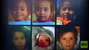 Sirio acusa a la coalición liderada por EE.UU. de haber matado a seis niños