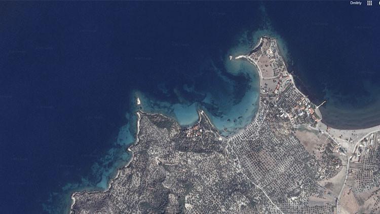 Hallan una isla con una ciudad sumergida en el mar Egeo