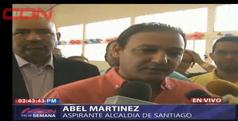 Abel Martínez condena muerte de dirigente PLD en Santiago; dice ya había denunciado a responsable