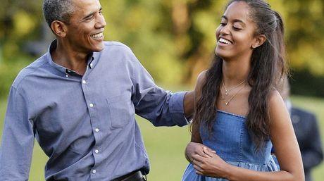 Hija de Barack Obama tuvo la selfie más buscada en Google
