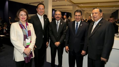 Presidente Medina destaca amenaza del cambio climático