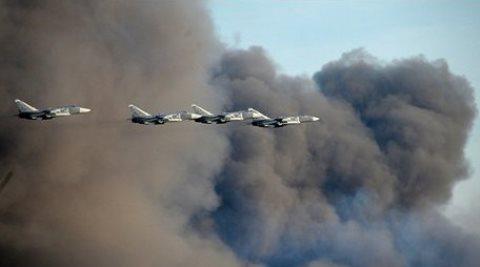 Reportan casi 40 muertos en supuesto bombardeo ruso en Siria