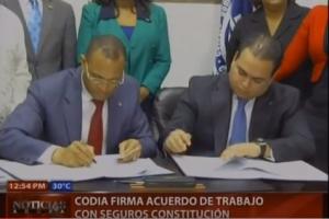 CODIA firma acuerdo