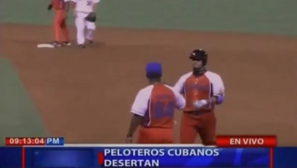Peloteros cubanos desertan