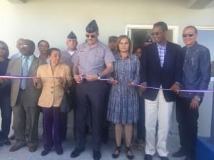 Comisión Desarrollo Provincial inaugura destacamento PN en Dajabón