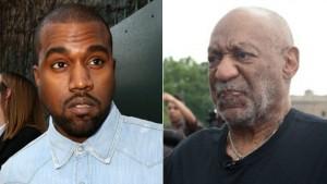 Enfurecen seguidores de Kanye West tras supuestamente defender a Bill Cosby
