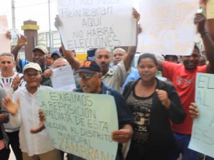 Protestan en Cotuí por exclusión de colegios electorales JCE