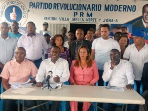 Ex candidatos a diputados del PRM piden nulidad de elecciones en santo domingo norte
