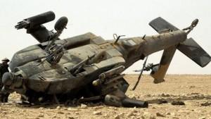 Helicóptero se estrella en aeropuerto de Siria