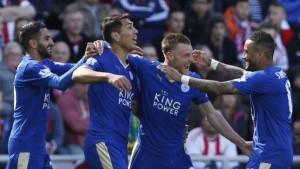 Leicester City se corona campeón por primera vez de la Liga Premier