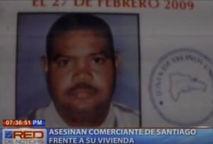 Asesinan comerciante de Santiago frente a su vivienda, familiares exigen justicia