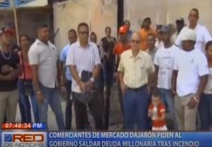 Comerciantes de mercado Dajabón piden al Gobierno saldar deuda millonaria tras incendio