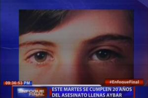 Este martes se cumplen 20 años del asesinato Llenas Aybar; uno de los involucrados en homicidio saldrá en libertad