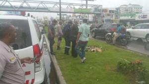 Encuentran cadáver en tramo avenida 27 de Febrero