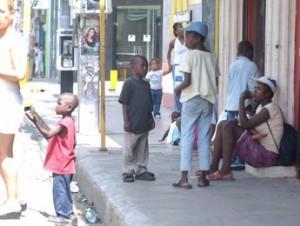 Niños en la calle (archivo).