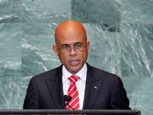El presidente de Haití, Michel Martelly (archivo).
