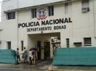 Policía en Bonao