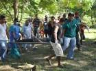 el cadáver del hombre ahogado en el río Yaque del Norte