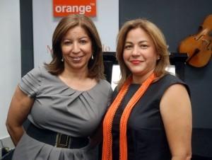 Liliana Camilo y Ceres Troncoso.