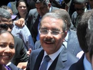 Danilo Medina, presidente electo.