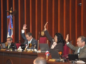 Senadores.Foto archivo.