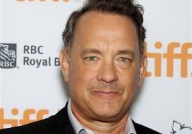 Tom Hanks en el estreno de