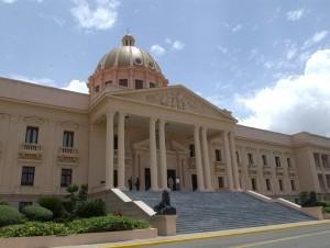 Fachada del Palacio Nacional.