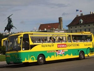 Autobús en Viena.