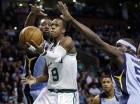Rajon Rondo (9)de los Celtics de Boston.