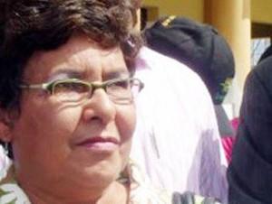 Eunice Jimeno, cónsul dominicana en Juana Méndez.