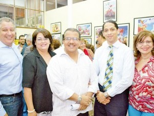 Abel Cruz, Riquelme de Sepúlveda, Félix Sepúlveda, José Jáquez y Fátima Rodríguez.