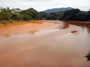 Diversas instituciones denunciaron que la empresa minera Barrick Gold está contaminando las aguas de los ríos de la provincia Sánchez Ramírez, como es el caso del Margajita, según el presidente de la Fundación Miguel de Peña García. El Frente Ampl