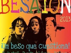 Besatón 2013 ¡Un beso que cuestiona!