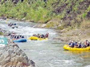 Jarabacoa es uno de los lugares preferidos para huir del calor.
