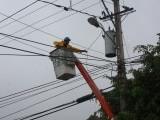 Huracán María afecta servicio eléctrico zona norte del país