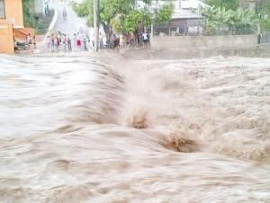 Inundaciones en Jánico.