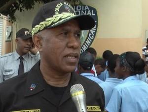 El nuevo jefe de la Policía, general  Manuel Castro Castillo.