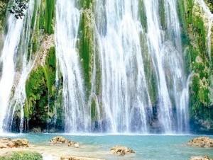 El Salto del Limón se encuentra a unos 300 metros del nivel del mar.